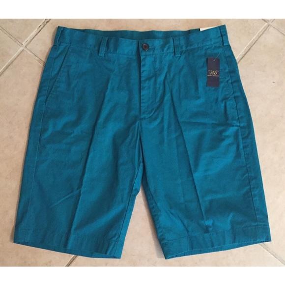 36e34e5b57 Brooks Brothers Shorts | Nwt Dark Deep Teal Chino | Poshmark